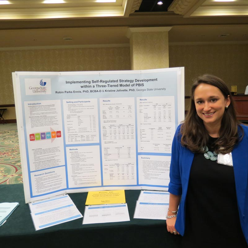Photo of Research Award Winner Poster