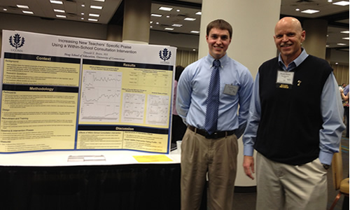Donald Briere's Outstanding Poster Presentation