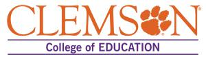Clemson University School of Education Logo