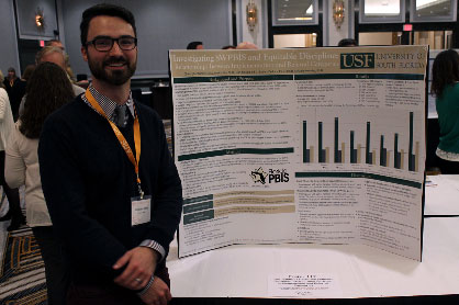 Christopher Barclay, APBS 2016 Ted Carr Outstanding Poster Winner